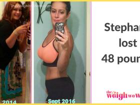 Stephanie Lost 48 Pounds