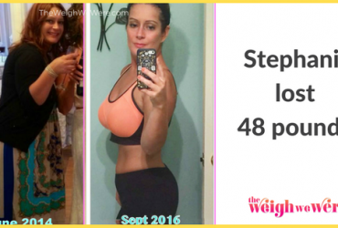 Stephanie Lost 48 Pounds