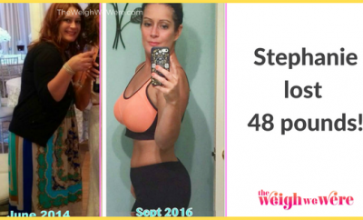 Weight Loss Before and After: Stephanie Lost 48 Pounds And Found Her Self Worth