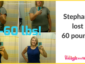 Stephanie Lost 60 Pounds