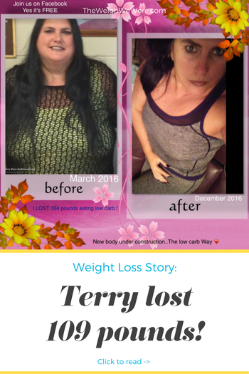 Terry Lost 109 Pounds
