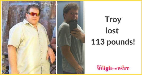 Male Before And After Weight Loss: Troy's 113 Pounds ...