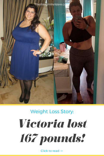 Victoria lost 167 pounds! See my before and after weight loss pictures, and read amazing weight loss success stories from real women and their best weight loss diet plans and programs. Motivation to lose weight with walking and inspiration from before and after weightloss pics and photos.