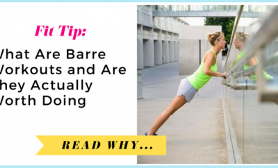 WTF Are Barre Workouts and Are They Actually Worth Doing?| via TheWeighWeWere.com