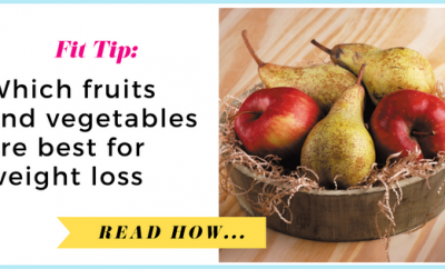 Which fruits and vegetables are best for weight loss?