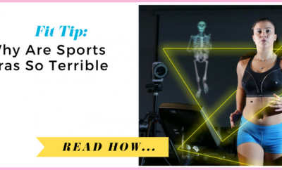Why Are Sports Bras So Terrible?  via TheWeighWeWere.com
