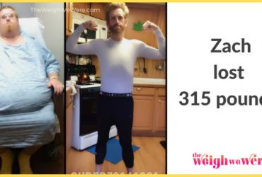 Zach Lost 315 Pounds