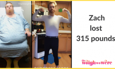 Zach Lost 315 Pounds