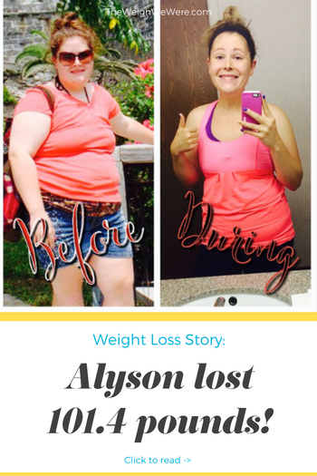 Alyson Lost 101.4 Pounds
