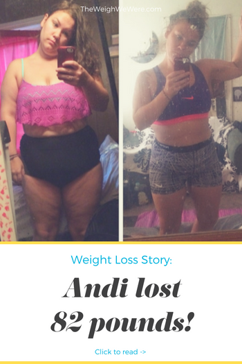 Andie lost 84 pounds! See my before and after weight loss pictures, and read amazing weight loss success stories from real women and their best weight loss diet plans and programs. Motivation to lose weight with walking and inspiration from before and after weightloss pics and photos.