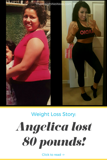 Angelica 80 Pounds Lost