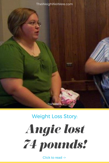 Angie lost 74 pounds! See my before and after weight loss pictures, and read amazing weight loss success stories from real women and their best weight loss diet plans and programs. Motivation to lose weight with walking and inspiration from before and after weightloss pics and photos.