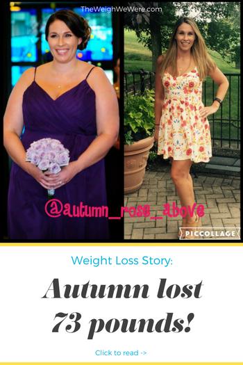 Autumn Lost 73 Pounds