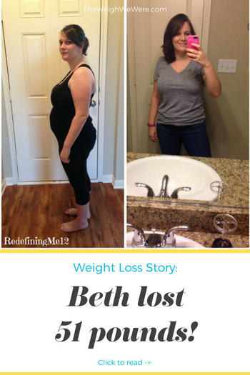 Beth Lost 51 Pounds