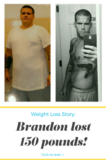 I lost 150 pounds! Read my weight loss success story and see my before and after weight loss pictures at the website The Weigh We Were. Hundreds of success stories, articles and photos of weight loss diet plans for men, tips for how to lose weight for men. Build muscle and lose belly fat with healthy male weight loss transformation pics for inspiration!