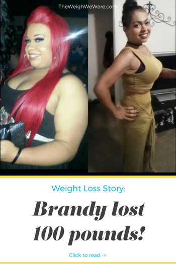 Brandy lost 100 pounds! See my before and after weight loss pictures, and read amazing weight loss success stories from real women and their best weight loss diet plans and programs. Motivation to lose weight with walking and inspiration from before and after weightloss pics and photos.