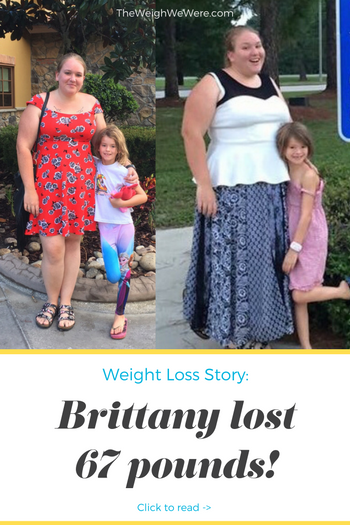 Brittany lost 67 pounds! See my before and after weight loss pictures, and read amazing weight loss success stories from real women and their best weight loss diet plans and programs. Motivation to lose weight with walking and inspiration from before and after weightloss pics and photos.