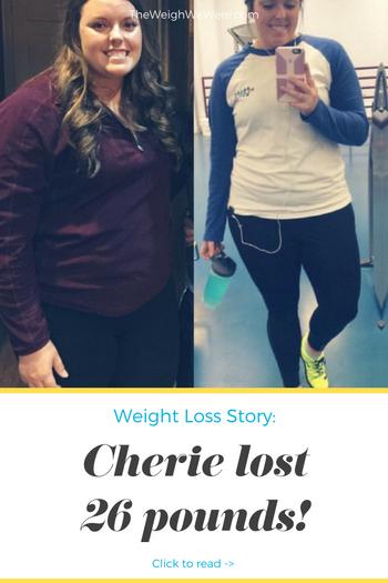 Cherie Lost 26 Pounds