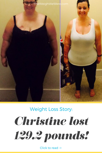 Christine lost 129.2 pounds! See my before and after weight loss pictures, and read amazing weight loss success stories from real women and their best weight loss diet plans and programs. Motivation to lose weight with walking and inspiration from before and after weightloss pics and photos.