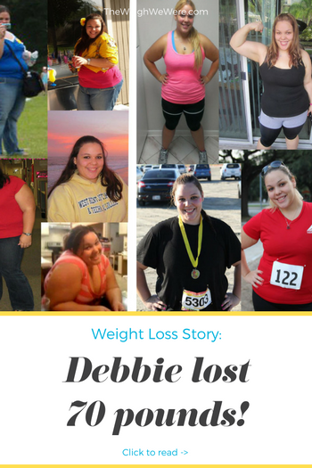 Debbie lost 70 pounds! See my before and after weight loss pictures, and read amazing weight loss success stories from real women and their best weight loss diet plans and programs. Motivation to lose weight with walking and inspiration from before and after weightloss pics and photos.