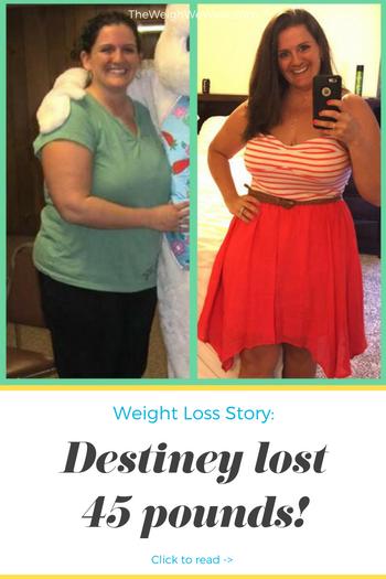 Destiney Lost 45 Pounds