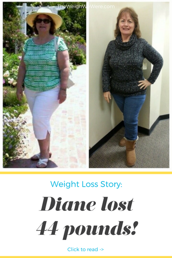 Diane Lost 44 Pounds