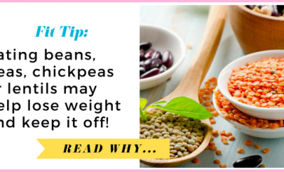 Eating beans, peas, chickpeas or lentils may help lose weight and keep it off| via TheWeighWeWere.com