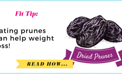 Eating prunes can help weight loss| via TheWeighWeWere.com