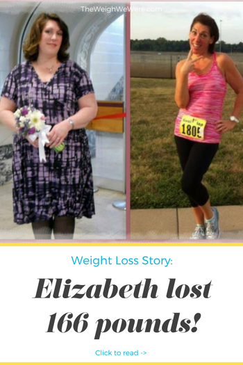 Elizabeth lost 166 pounds! See my before and after weight loss pictures, and read amazing weight loss success stories from real women and their best weight loss diet plans and programs. Motivation to lose weight with walking and inspiration from before and after weightloss pics and photos.