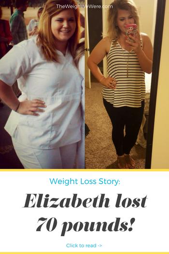 Elizabeth Lost 70 Pounds