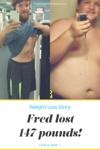 Fred Lost 147 Pounds