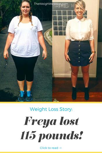 Freya Lost 115 Pounds