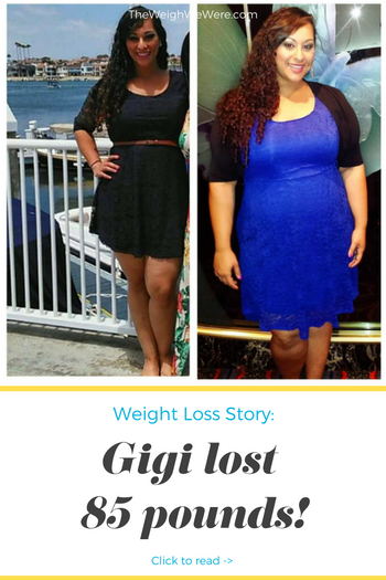 Gigi lost 85 pounds! See my before and after weight loss pictures, and read amazing weight loss success stories from real women and their best weight loss diet plans and programs. Motivation to lose weight with walking and inspiration from before and after weightloss pics and photos.