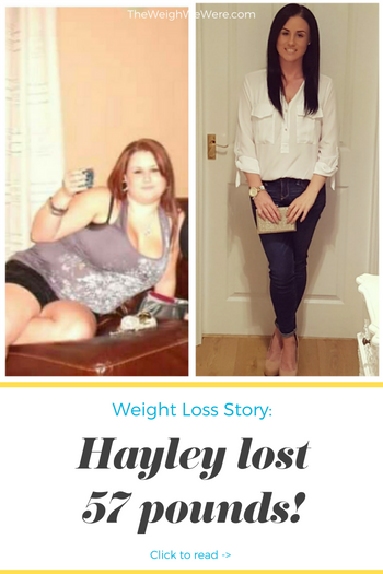 Hayley Lost 57 Pounds