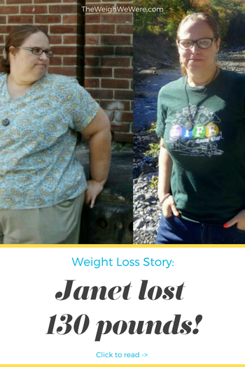 Janet lost 130 pounds! See my before and after weight loss pictures, and read amazing weight loss success stories from real women and their best weight loss diet plans and programs. Motivation to lose weight with walking and inspiration from before and after weightloss pics and photos.