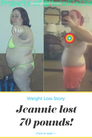 Jeannie Lost 70 Pounds