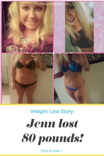 Jenn Lost 80 Pounds