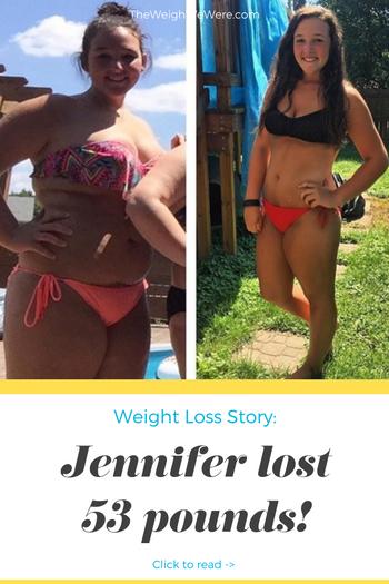 Jennifer Lost 53 Pounds