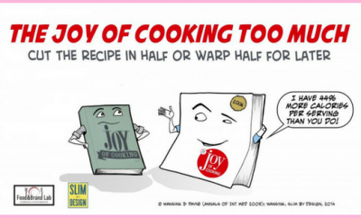 The Joy of Cooking Too Much| via TheWeighWeWere.com
