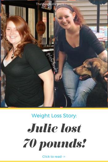 Julie Lost 70 Pounds
