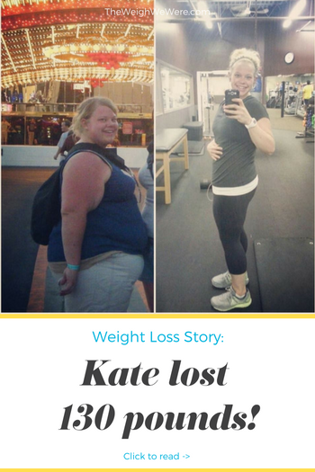 Kate Lost 130 Pounds