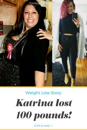 katrina's 100 pound weight loss