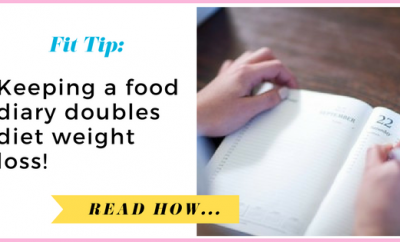 Keeping A Food Diary Doubles Diet Weight Loss, Study Suggests| via TheWeighWeWere.com