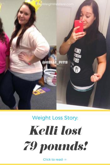 Kelli Lost 79 Pounds