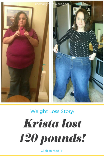 Krista Lost 120 Pounds