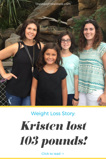 Kristen Lost 103 Pounds