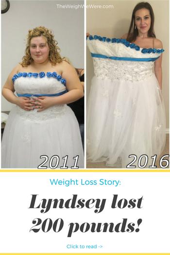 Lyndsey Lost 200 Pounds