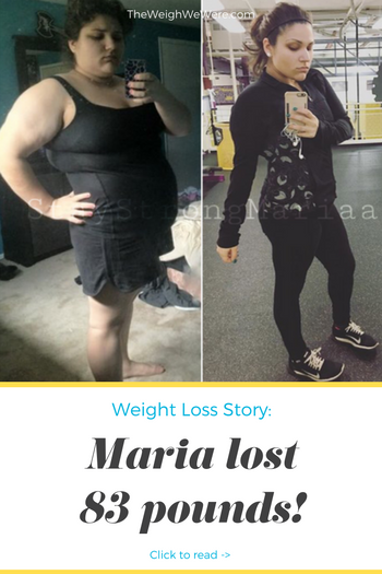 Maria Lost 83 Pounds