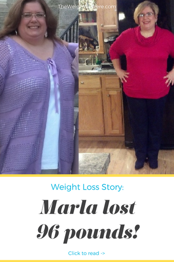 Marla Lost 96 Pounds