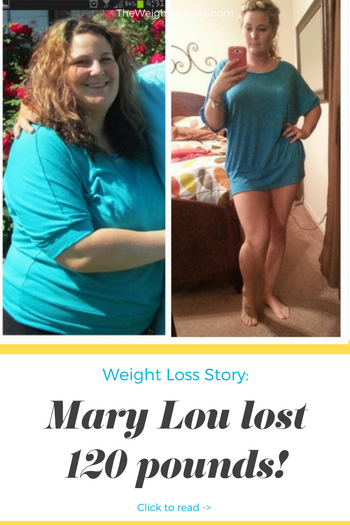Mary Lou lost 120 pounds! See my before and after weight loss pictures, and read amazing weight loss success stories from real women and their best weight loss diet plans and programs. Motivation to lose weight with walking and inspiration from before and after weightloss pics and photos.